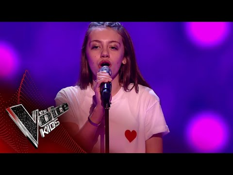 Jessie Performs 'Don't Kill My Vibe': Blinds 4 | The Voice Kids UK 2018