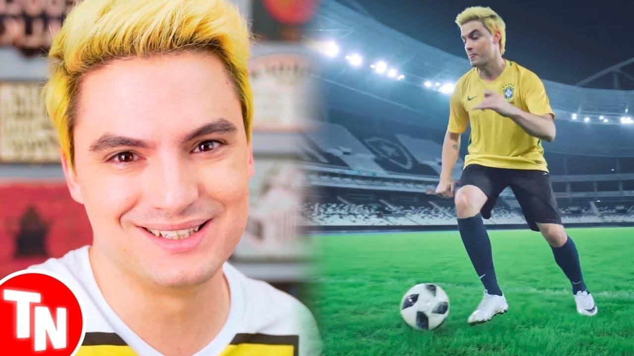 Felipe Neto promete nunca mais fazer música pra Copa se o Brasil ganhar o Hexa