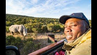 Conservation Lessons: Rhino Sudan's Carer Visits Kariega   James Mwenda Meets Thandi