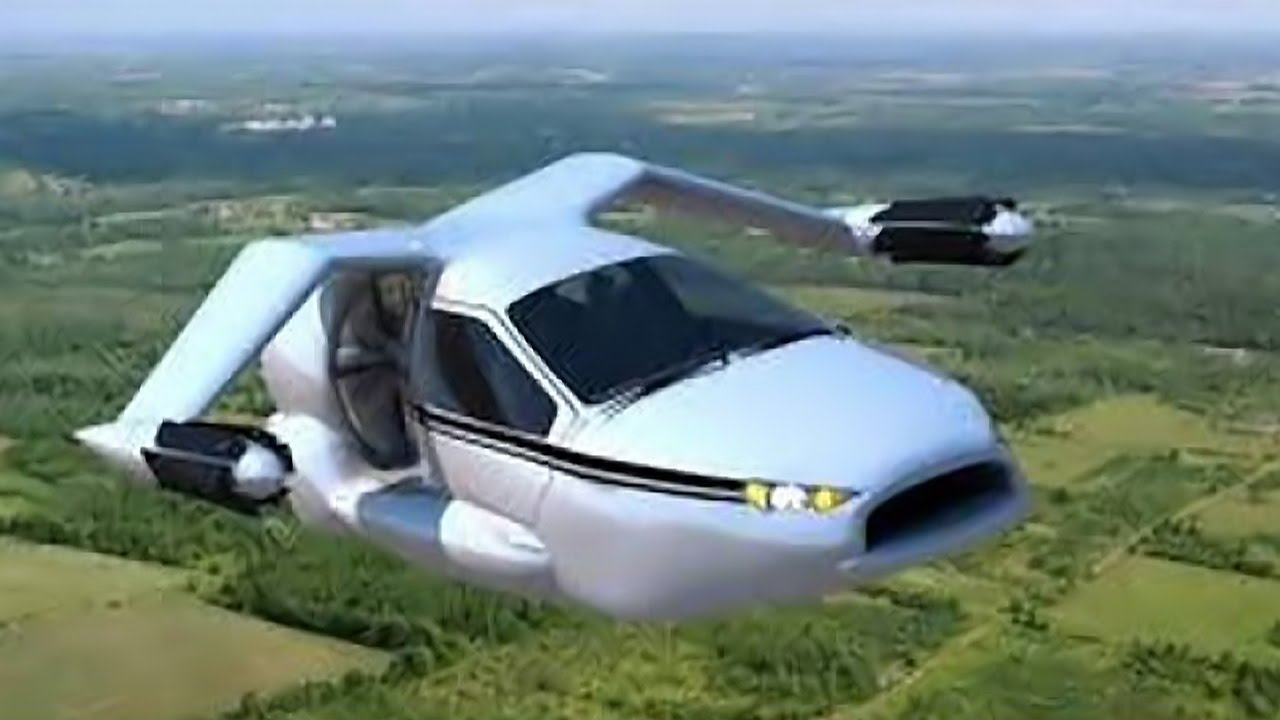 5 Echte Fliegende Autos Von Denen Ihr Nicht Glauben