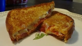 Grilled Cheese Pizza Easy