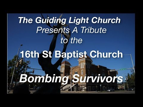 Tribute to the Survivors of the 1963 16th Street Baptist Church Bombing