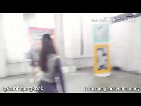 Jungkook call eunha in wednesday family behind the scene