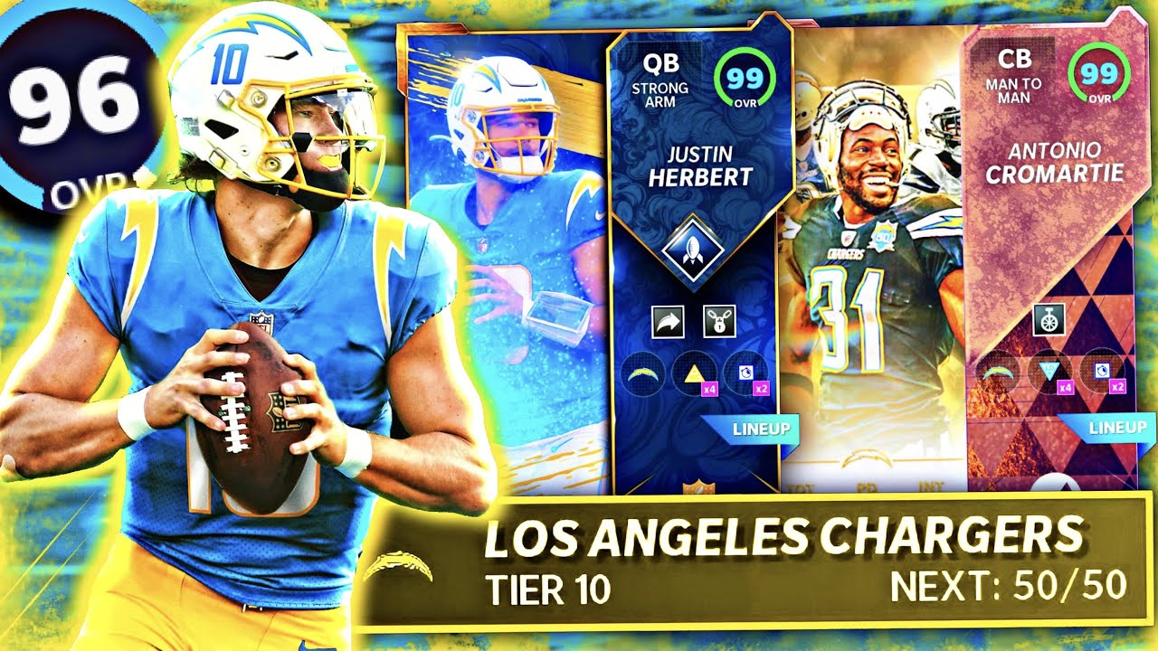 THE BEST CHARGERS THEME TEAM IN MADDEN 21!! FULL LINEUP + CHEMS BREAKDOWN [SERIES 5 UPDATE]