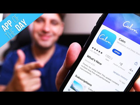 How to Meditate With Calm App - Calm App Overview