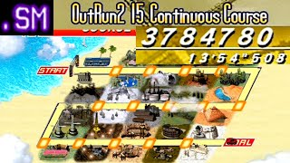 OutRun2 SP - 3,784,780 on OutRun Mode 15 Stages, Old Course