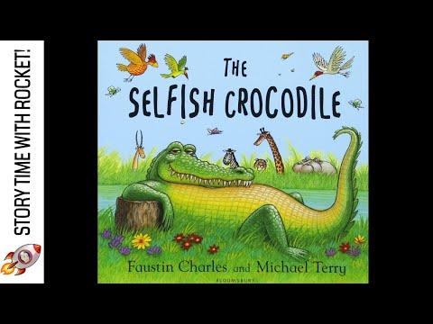 📚THE SELFISH CROCODILE – FAUSTIN CHARLES & MICHAEL TERRY – FUN BOOKS FOR PRIMARY SCHOOL CHILDREN!