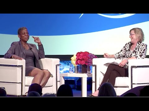 Ursula Burns Interview by Maggie Wilderotter at John Wooden ...