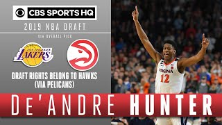 De'Andre Hunter is the best defensive player in this Draft | 2019 NBA Draft | CBS Sports HQ