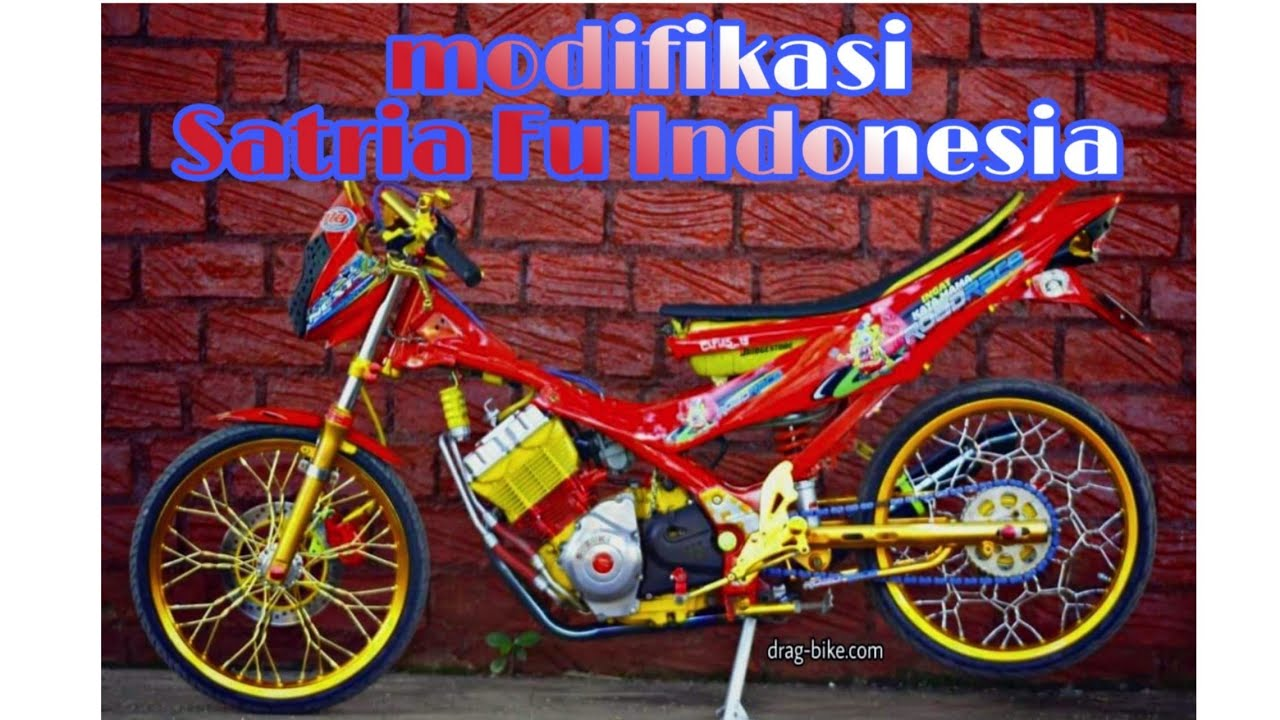 Satria Fu modifikasi Indonesia Paling KEREN Video ViLOOK