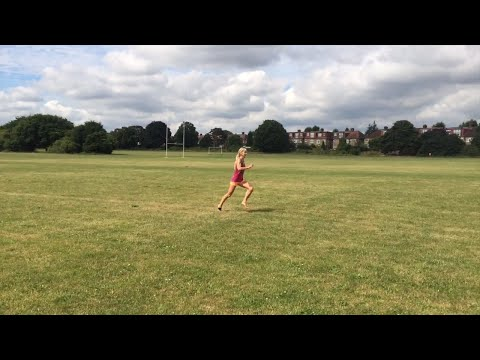 The perils and pleasures of barefoot running in a London Park - relationships in the step!