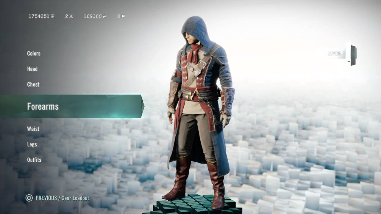 assassins creed unity arnos tailored outfit