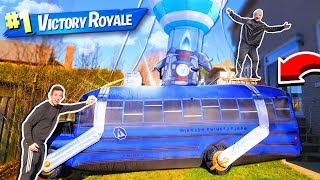 BUYING A REAL FORTNITE BATTLE BUS!