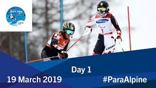 Team Event Final | Day 1 | World Para Alpine Skiing World Cup | Morzine 2019
