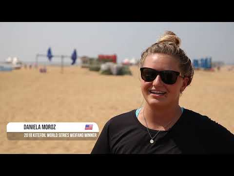 2019 Kitefoil World Series Weifang Binhai - Highlights Day 1