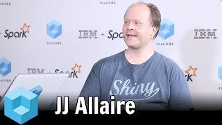 #TheCUBE #SparkBizApps 2016 JJ Allaire, RStudio - Apache Spark Makinesi Topluluk Olay -