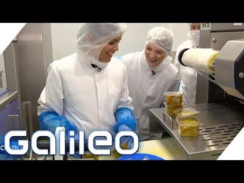 Selbstversuch: Der harte Job als Food-To-Go-Produzent | Galileo | ProSieben