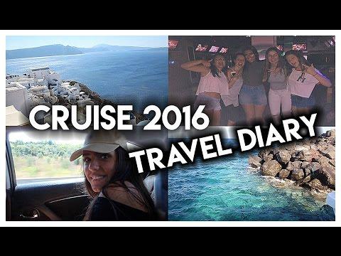 CRUISE 2016 TRAVEL DIARY