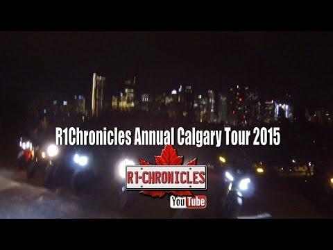 R1Chronicles Annual Calgary Tour 2015