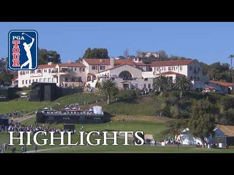 Highlights  Round 1  Genesis Open