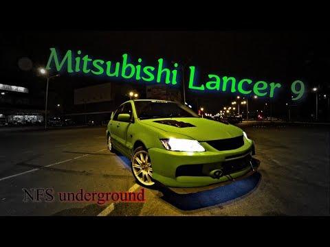 Mitsubishi Lancer 9 - ЛЕГЕНДА ИЗ ДЕТСКОЙ ИГРЫ NFS  Underground