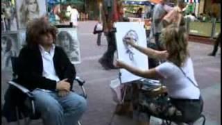 Рисовать портреты порой тяжело!