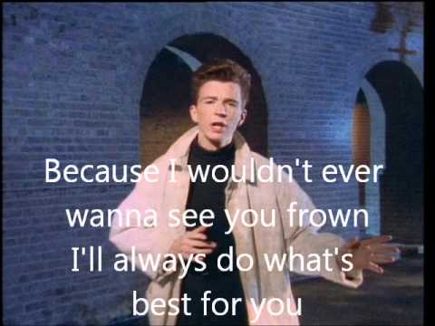 Rick Astley Together Forever lyrics