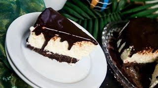 Кокосовый чизкейк без выпечки из маскарпоне