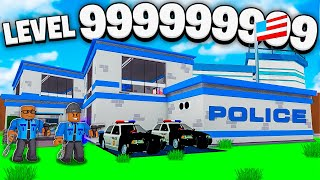 WE BUILT A 2 PLAYER LEVEL 999,999,999 ROBLOX POLICE TYCOON