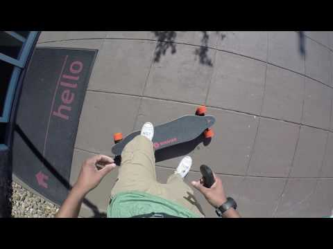 Vlog #5 Boosted Boarding to the galleria