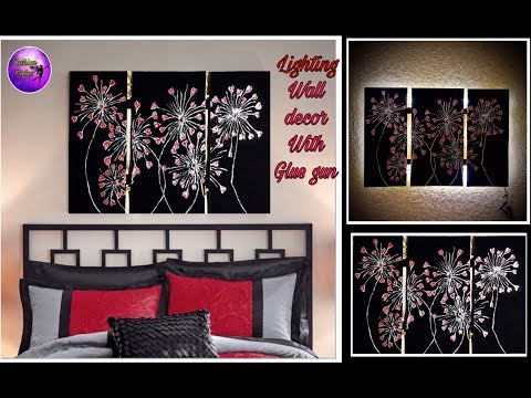 Diy Abstract wall decor  | paper craft | Diy wall decor with paper | Fashion pixies