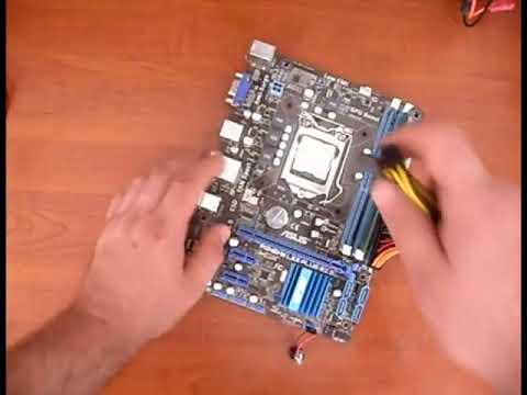 Hướng dẫn sua Asus P8H61 M LX3 PLUS R2 power 3 3v and the Lan chipset  Realtek RTL8111