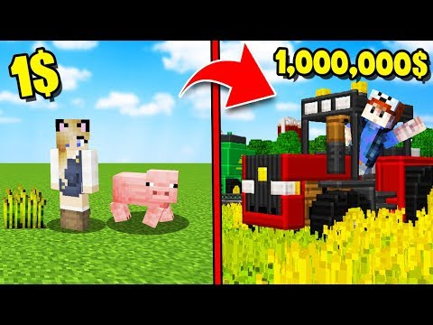 OD NOOB DO PRO FARMERA W MINECRAFT! (Minecraft Symulator Farmy) | Vito I Bella