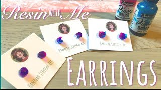Resin with Me | Tiny Earrings