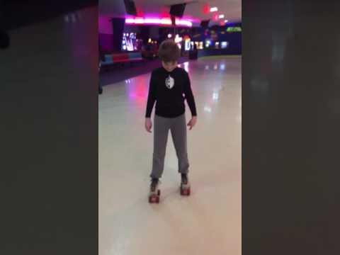 Mommys roller skating buddy