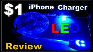 Random Reviews Ep. 49: $1 LED Light Up IPhone Charger
