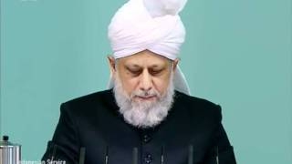Indonesian Friday Sermon 4 Nov 2011, Blessings of Financial Sacrifice by Ahmadiyya Muslim Community