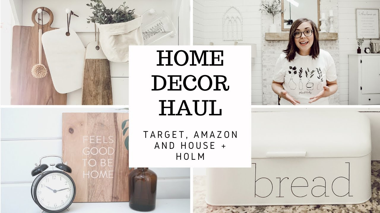 Home Decor Haul Amazon Favorites 2020 Target Haul House Holm Youtube