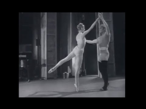 Christiane Vlassi and Jean-Pierre Bonnefoux - Rehearse 'Grandeur Nature' On Stage