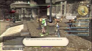 Final Fantasy XIV: A Realm Reborn - Easy Alchemist leveling
