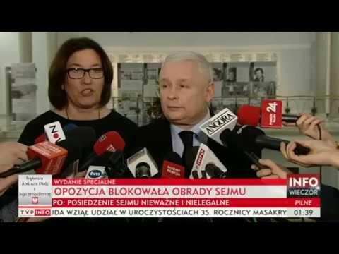"""Jarosław Kaczyński zgasił krzyczącego Nitrasa i TVN """"Warto się nim zająć ze względów medycznych"""""""
