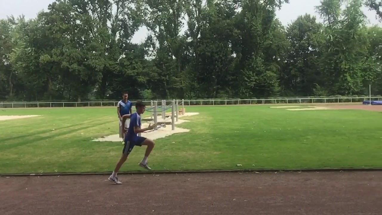 Sprinttraining Fußball