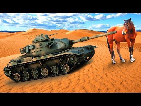 TANK HITS A HORSE! - Battlefield 1 (Max...