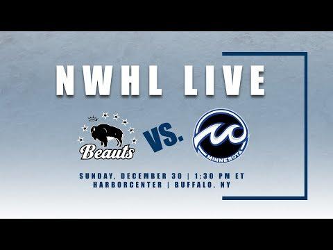 NWHL Live: Minnesota at Buffalo 12.30.18