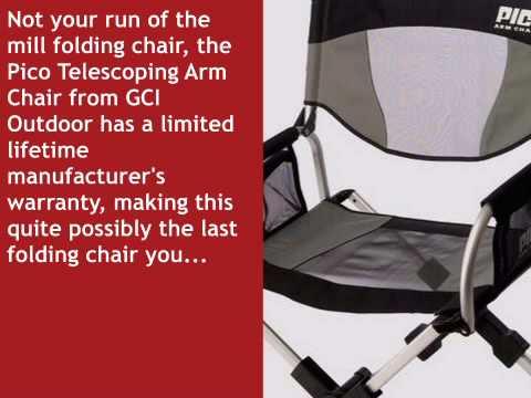 Pico Telescoping Arm Chair   Whatshebuys.com