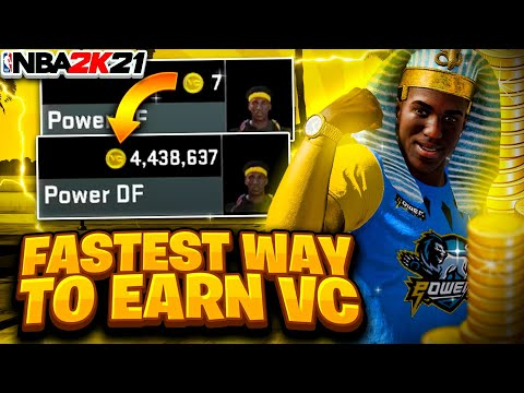 THE BEST WAYS TO EARN VC IN NBA 2K21 • HOW TO GET FREE VC FAST LEGIT