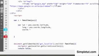 How To Use HTML5 Geolocation - Detect User's Location and Display on Google Maps Free HD Video