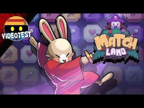 TEST de MATCH LAND : Le meilleur jeu mobile 2017 ?