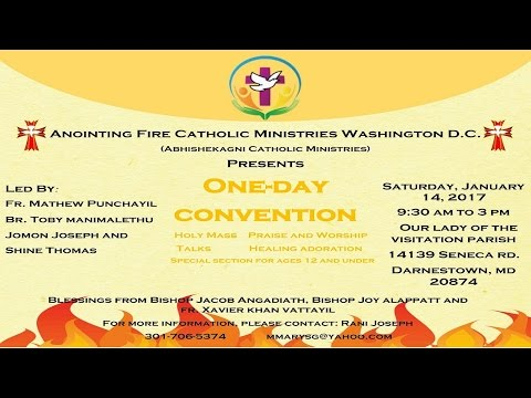 Anointing Fire Catholic Ministry Washington, D.C.