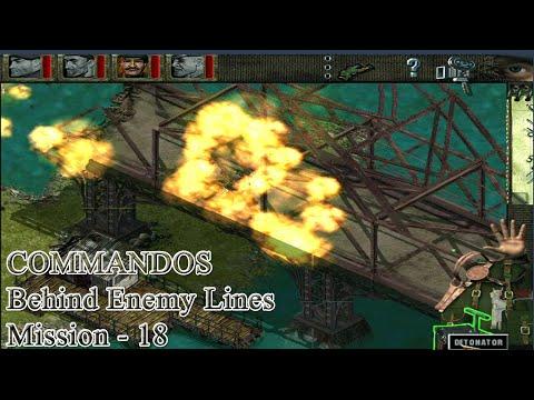 Commandos Behind Enemy Lines  Mission 18 | Behind Enemy Lines part 1 |